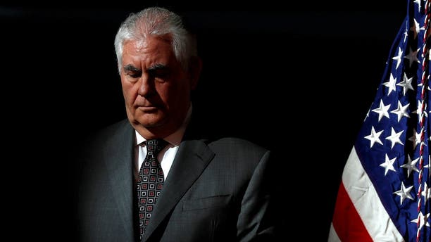 Rex Tillerson served as secretary of state for a little more than one year.