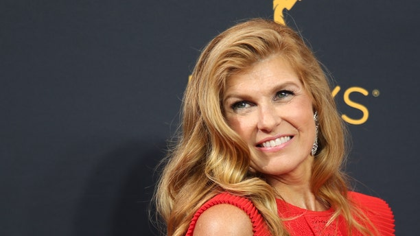 """Actress Connie Britton from FX Network's """"The People v. O.J. Simpson: American Crime Story"""" arrives at the 68th Primetime Emmy Awards in Los Angeles, California U.S., September 18, 2016."""