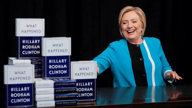 "Former Secretary of State and 2016 Democratic Presidential nominee Hillary Clinton blames former FBI Director James Comey for her election loss, among other things, in her memoir ""What Happened."""