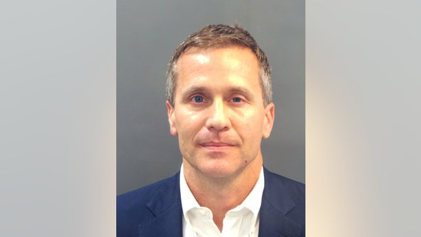 Gov. Eric Greitens was indicted and booked in February 2018.