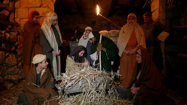 Nazareth's Christmas celebrations are a huge tourist attraction. The town is believed to be Jesus' childhood home.