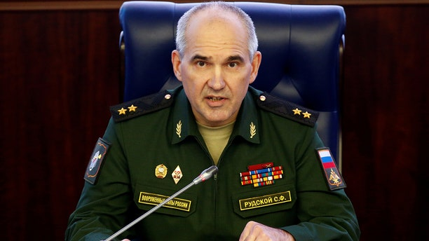 Col. Gen. Sergei Rudskoi of the Russian military's General Staff.