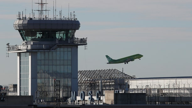 Russia's S7 Airlines aircraft takes off at the Domodedovo Airport outside Moscow, Russia, November 2, 2017.