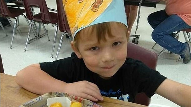 Ryland Ward, 5, was in critical condition early Monday morning after sustaining multiple gunshots.