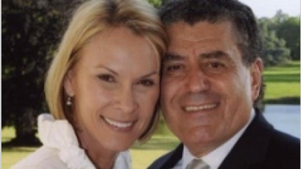 Cheryl Saban, seen here with her billionaire husband, is on the Clinton Foundation's board of directors.