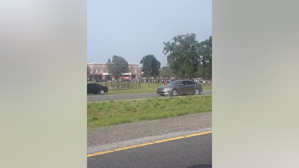 At least one student was injured after being shot in the ankle at Forest High School.