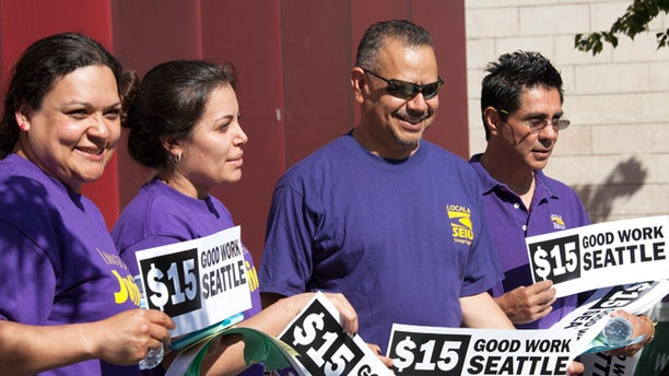 In 2014, Seattle became the first major city to approve a sharp increase in the minimum wage to $15 per hour by 2021.