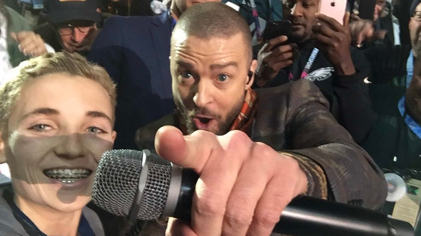 Viral Super Bowl sensation Ryan McKenna shared his now famous selfie with Justin Timberlake during the Super Bowl.