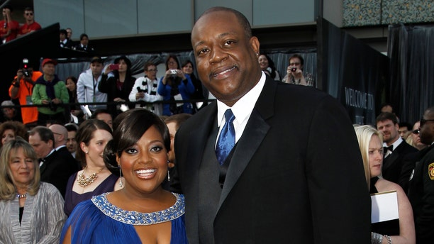 Feb. 26, 2012. Sherri Shepherd and  Lamar Sally arrive before the 84th Academy Awards in the Hollywood section of Los Angeles.