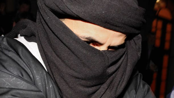 Ali Charaf Damache was arrested Thursday, Dec. 10 in Barcelona based on a U.S. warrant issued stating he was a suspected recruiter for an Islamic extremist group, according to the Interior Department for the northeastern region of Catalonia. (AP Photo/Peter Morrison, File)