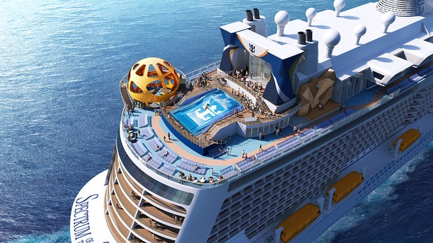 """""""Specifically tailored"""" to the Chinese market, the Spectrum of the Seas will be the first liner in Royal Caribbean's Quantum Ultra class of ships."""