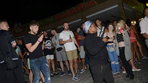 The protesters said they were furious that police went after them, and not, as they described it, the real law-breakers. They have vowed to continue protesting throughout the summer, when crowds at the party town swell.