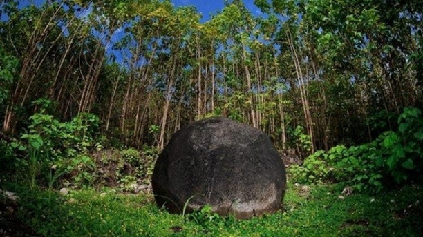 Mysterious stone spheres dot the Pre-Colombian Chiefdom Settlements of the Diquis in Costa Rica, which is now a World Heritage site.