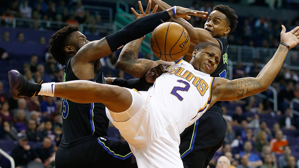 Suns guard Isaiah Canaan suffered a season-ending ankle injury Wednesday night against the Dallas Mavericks.