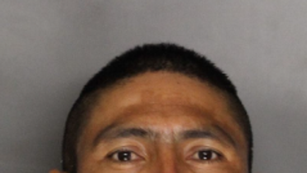 Jose Garcia Alvarez, 40, was arrested after he was captured on video in an alleged road rage incident.