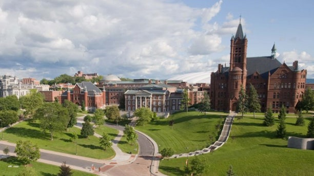 FILE: A fraternity at Syracuse University was permanently expelled Saturday.