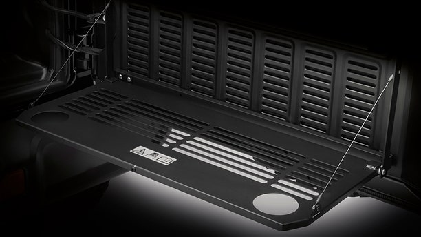 MOPAR's Tailgate Table looks ready to party.