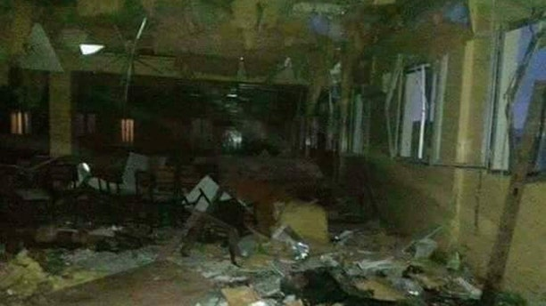 Carnage from Taliban attack.