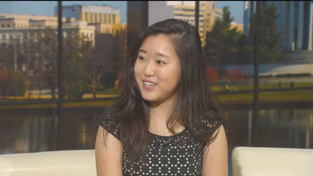 Stephanie Mui, 17, earned her master's degree Saturday from George Mason University in Fairfax County, Virginia, before graduating from high school.