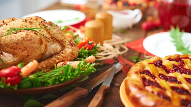 Calories in your Thanksgiving meal can be reduced several ways.