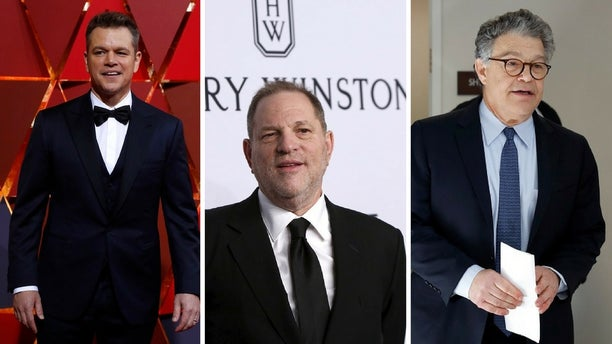 """Matt Damon said Harvey Weinstein and Al Franken """"do not belong in the same category"""" in regards to sexual misconduct allegations against them."""