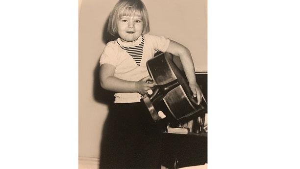 A young Tina Alexis Allen.