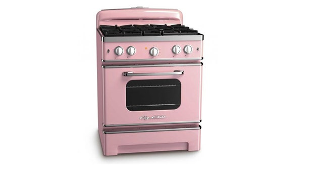 Try a bold, colorful appliance.