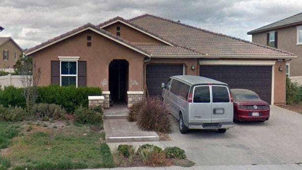 The Turpin home in Perris, Calif.