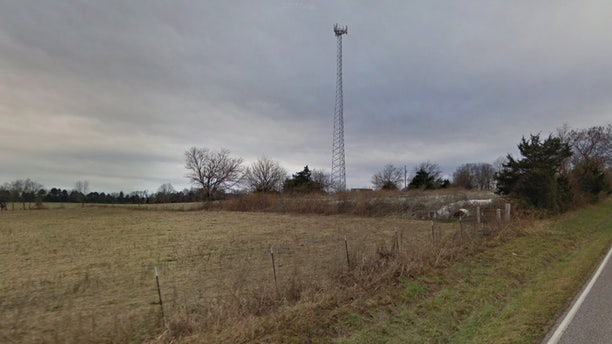 A television tower is seen off Missouri State Highway 905 in Rogersville, Missouri in this 2016 Google Street View Photo.
