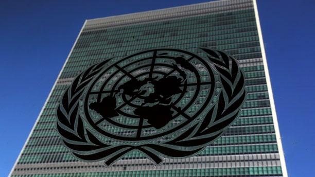 The UN headquarters in New York City.