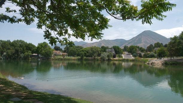 Salem Pond is shown Thursday, July 19, 2018, in Salem, Utah