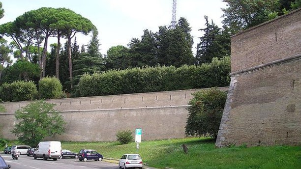 The Vatican is nearly surrounded by walls dating back more than 1,000 years. (Reuters)