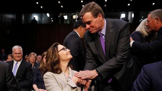 Senate Intelligence Committee Vice Chairman Mark Warner endorsed President Trump's CIA nominee, Gina Haspel, on Tuesday.