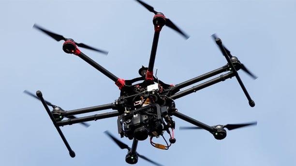 FILE: Law enforcement agencies are watching what happens to a Connecticut bill that calls for weaponized drones.