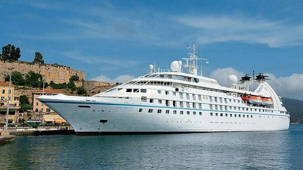 Windstar's 212-passenger Star Breeze cruise liner can be rented for a private cruise for about $600,000 to $1million.
