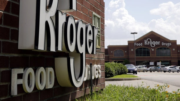 This Tuesday, June 17, 2014 photo shows a Kroger store in Houston. Kroger reports quarterly financial results on Thursday, June 19, 2014. (AP Photo/David J. Phillip)