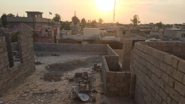 The decimated Yazidi town of Sinjar, whereby thousands of Yazidis were kidnapped by ISIS militants and remain missing