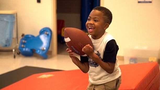 Zion Harvey, 10, of Baltimore, Md., is the first youngster to undergo a successful double-hand transplant two years ago.