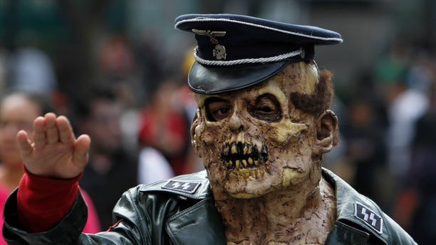 Counter-terrorism means being ready for anything ... but zombies? (AP)