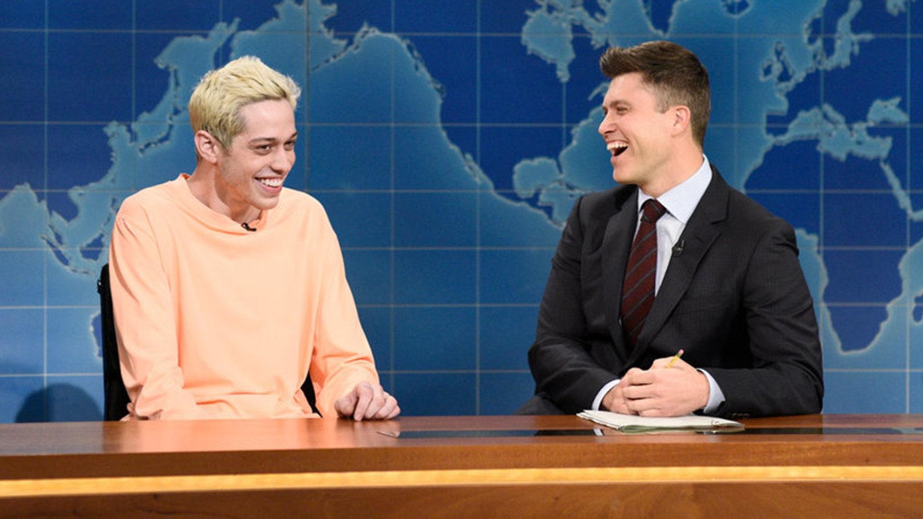 "Pete Davidson addressed last week's Kanye West rant on ""Saturday Night Live."""