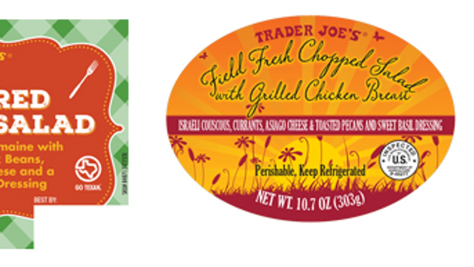 Prepared Salad Recalled At Walmart, Whole Foods & Trader Joe's