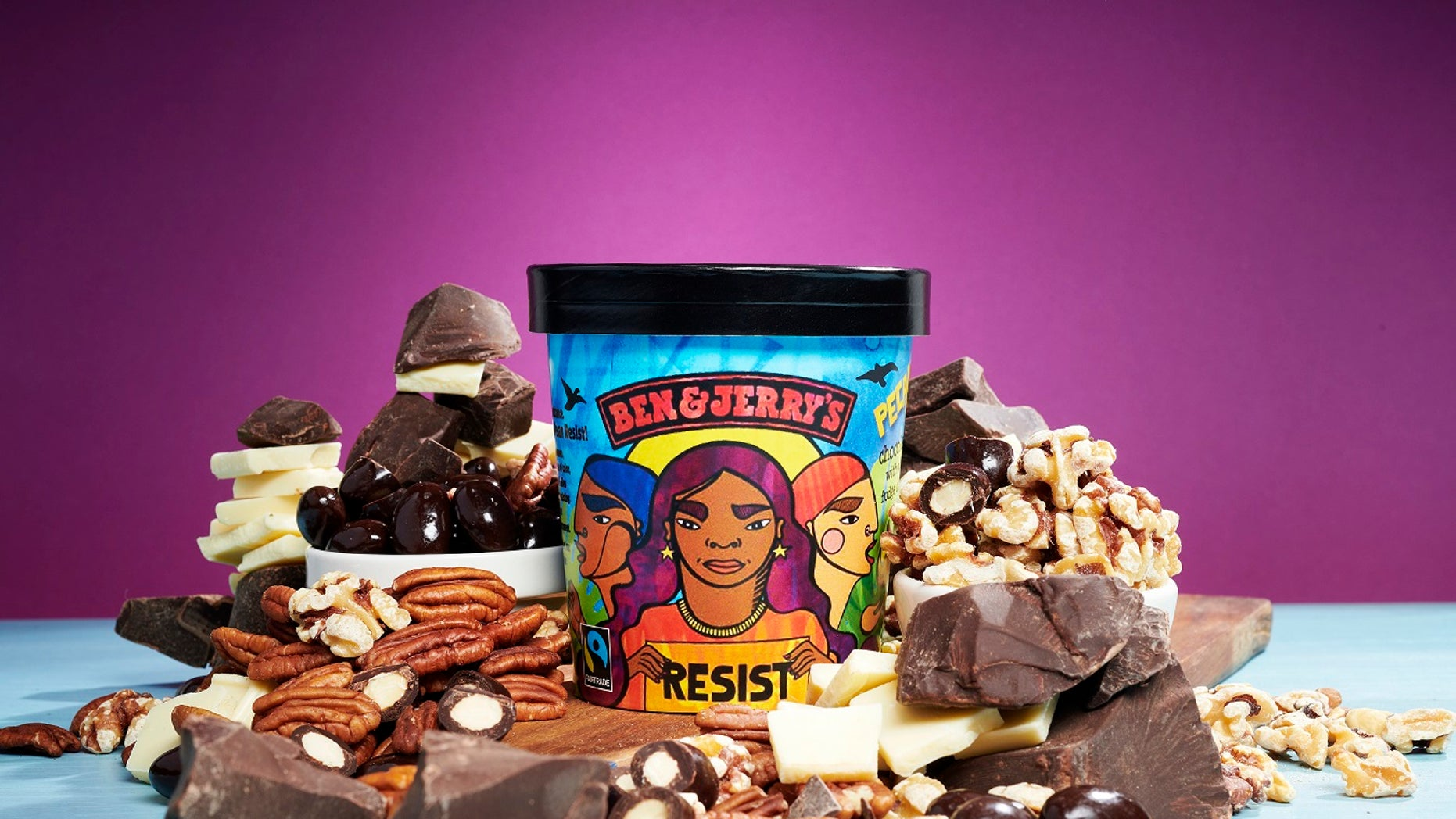 Ben & Jerry's is using the ice cream to take a stance against the Trump administration.