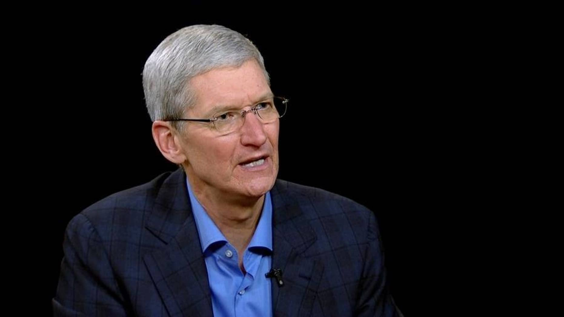 Apple CEO Tim Cook was honored by the Anti-Defamation League on Monday in New York.