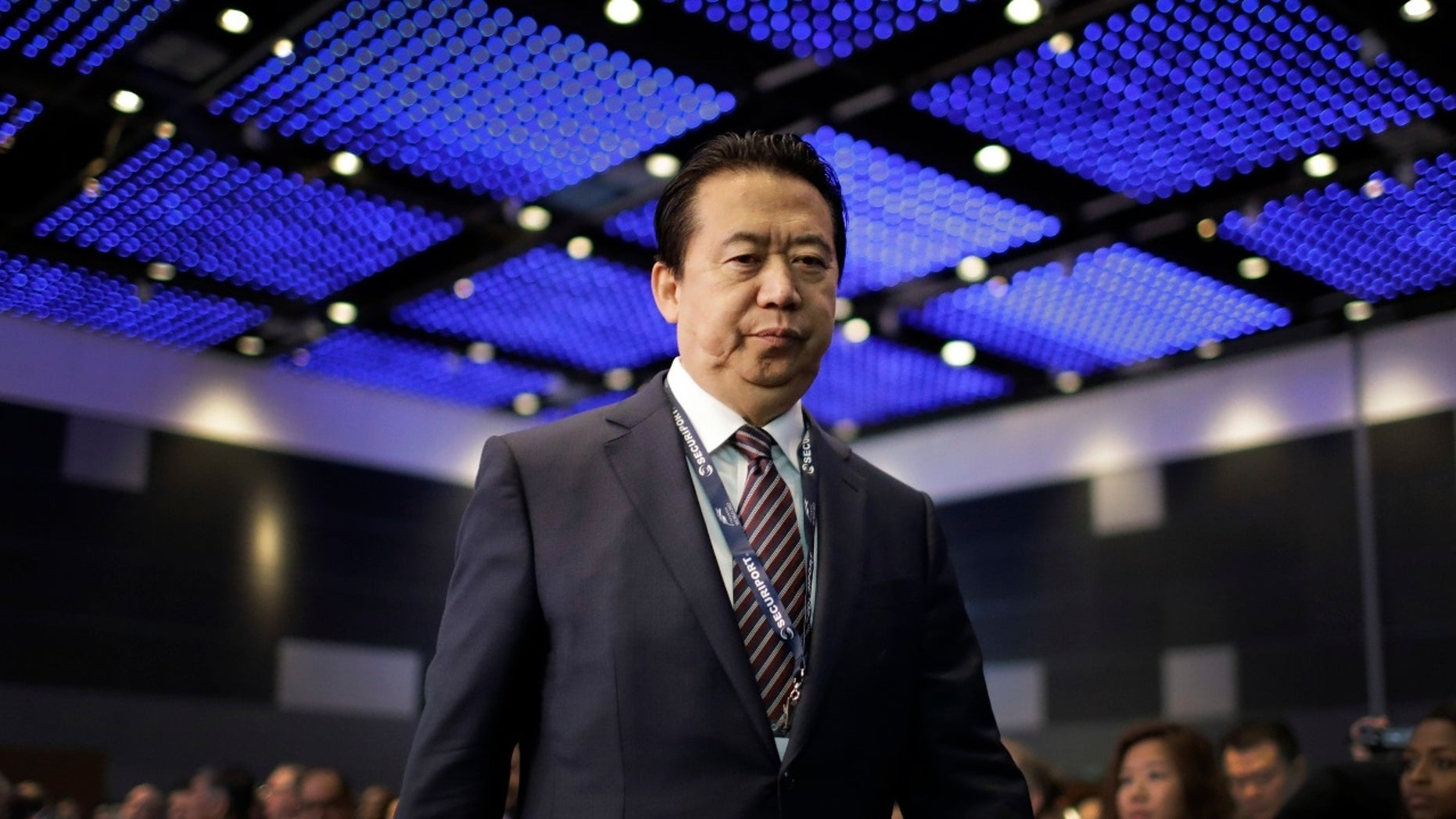 Meng Hongwei was reported missing after traveling to China.