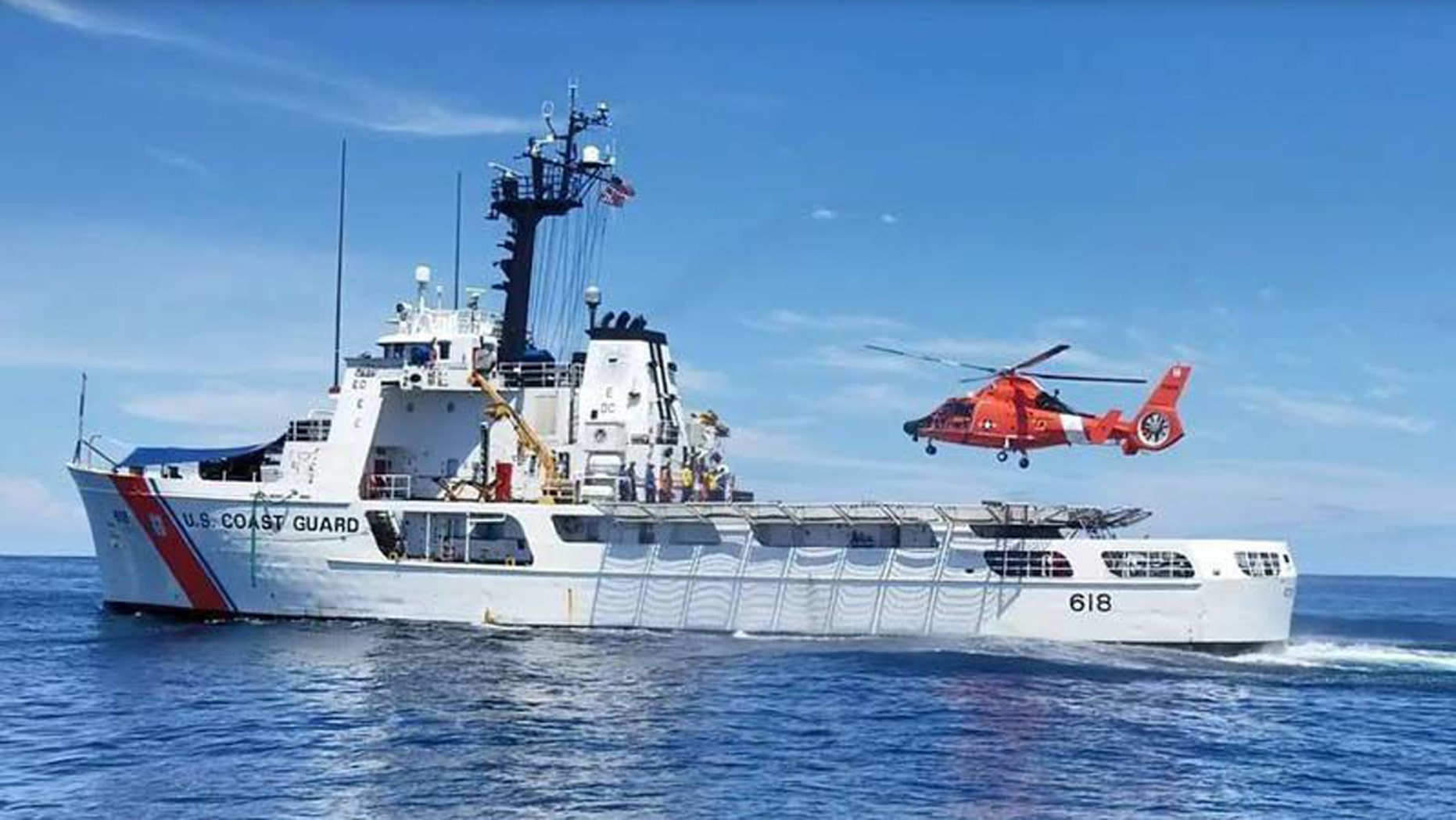 A crew from the U.S. Coast Guard seized $87 million worth of cocaine and returned to Washington state on Friday, reports said.