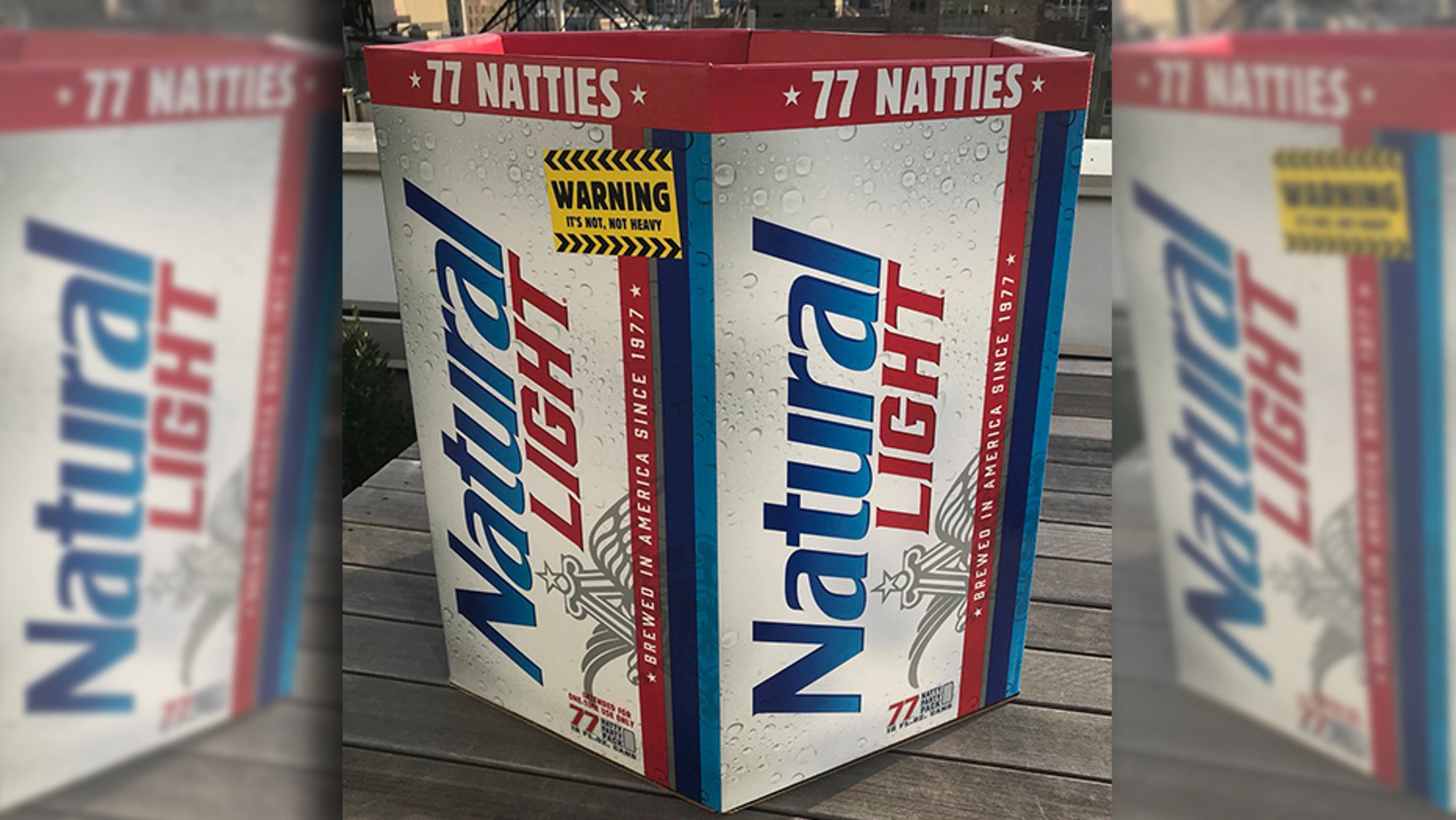 "The 77-packs will feature 12 oz. beers and are slated to hit College Park area liquor store shelves ""within the next few days."""