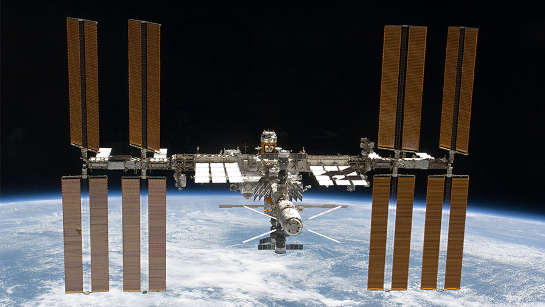 NASA has found that during slightest 4 herpes viruses reactivate in some astronauts on spaceflights to a Space Shuttle and a International Space Station. (The International Space Station is pictured, taken by an STS-133 organisation member on space convey Discovery)