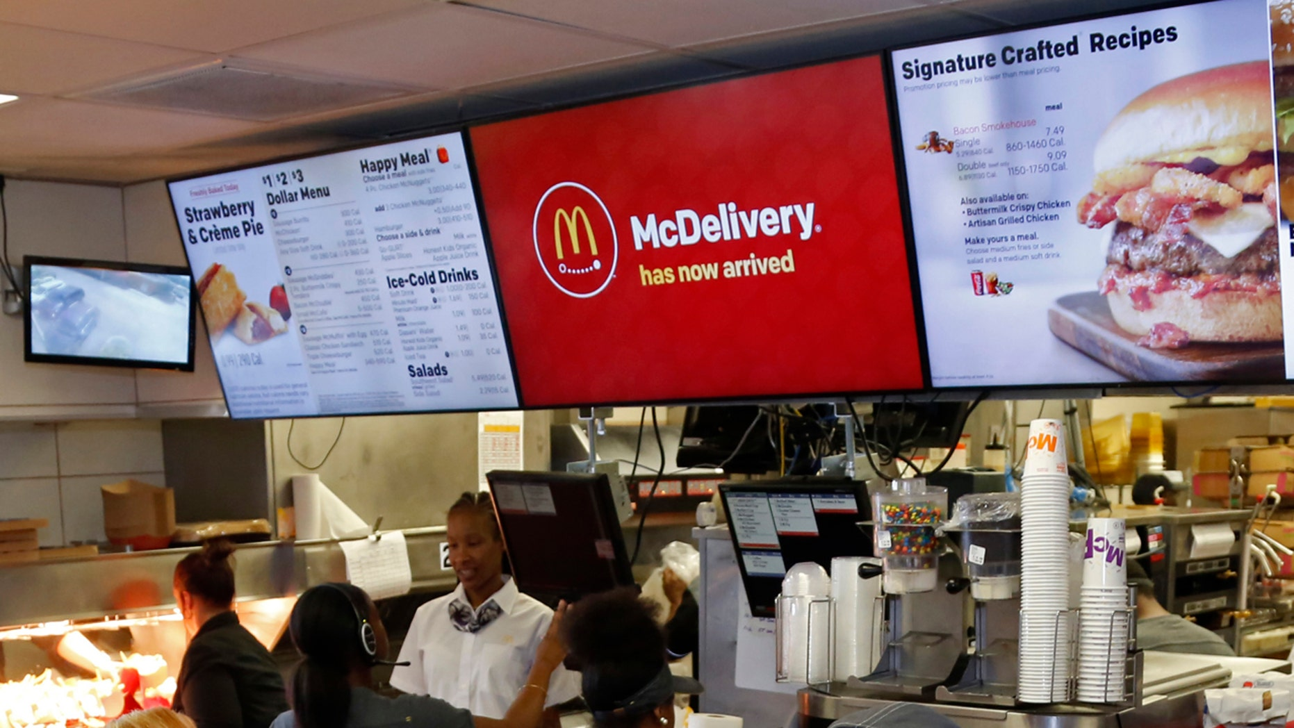 FILE: A McDonald's restaurant in Pittsburgh, July 18, 2018. Mobster Sylvester Zottola, 71, was fatally shot at a McDonald's drive-thru in the Bronx on Thursday, sources said.
