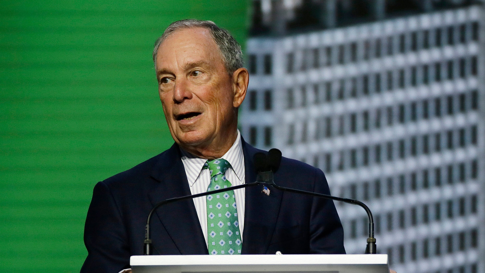 Former New York City Mayor Michael Bloomberg has re-registered as a Democrat amid rumors he's running for president. (AP Photo/Eric Risberg)