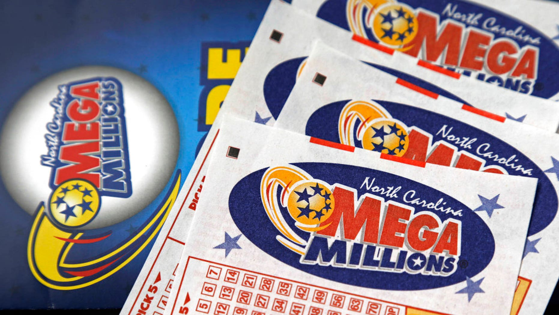 The numbers for the value of the Mega Millions Tuesday are worth $ 172 million. (Photograph AP / Gerry Broome, File)